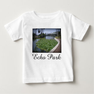 Echo Park Lake in Los Angeles, California Baby T-Shirt