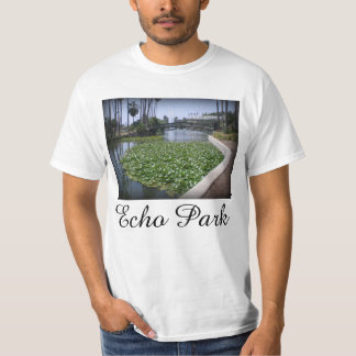 Echo Park Lake in Los Angeles, California T-Shirt