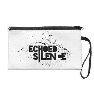 Echoed Silence Wristlet
