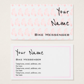 """Echoes"" Bike Messenger Business Cards"