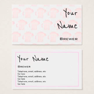 """""""Echoes"""" Brewer Business Cards"""