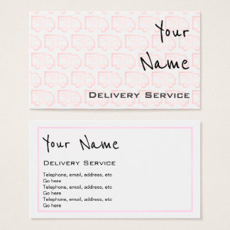 """Echoes"" Delivery Business Cards"