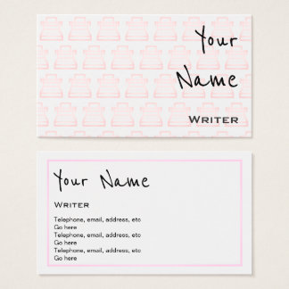 """Echoes"" Writer Business Cards"