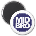 ecircle mid bro green refrigerator magnets