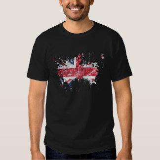 éclaboussure les anglais t shirt