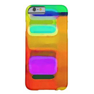 Éclat de résumé de couleur. coque iPhone 6 barely there
