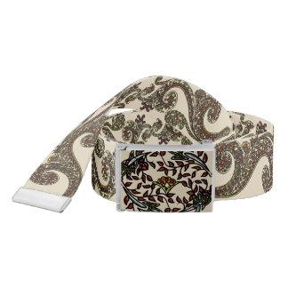 Eclectic Paisley Boho Gems Belt