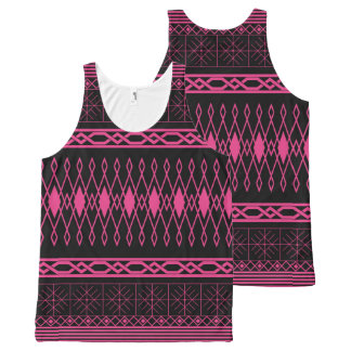 Eclectic Pattern (save) All-Over-Print Tank Top
