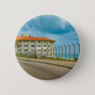 Eclectic Style Building Natal Brazil 2 Inch Round Button