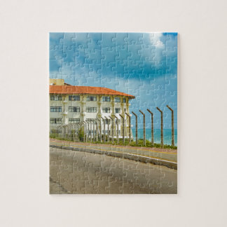 Eclectic Style Building Natal Brazil Jigsaw Puzzle
