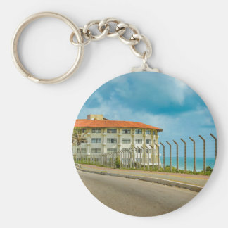 Eclectic Style Building Natal Brazil Keychain