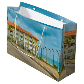 Eclectic Style Building Natal Brazil Large Gift Bag