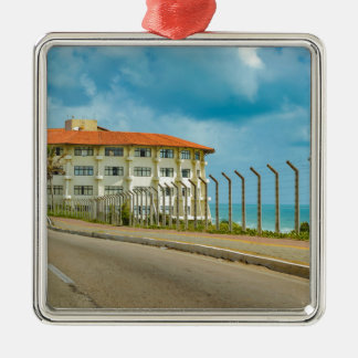 Eclectic Style Building Natal Brazil Metal Ornament