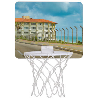 Eclectic Style Building Natal Brazil Mini Basketball Hoop