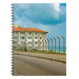 Eclectic Style Building Natal Brazil Notebook