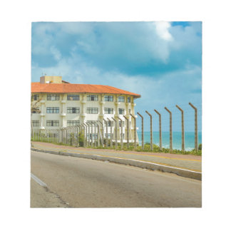 Eclectic Style Building Natal Brazil Notepad