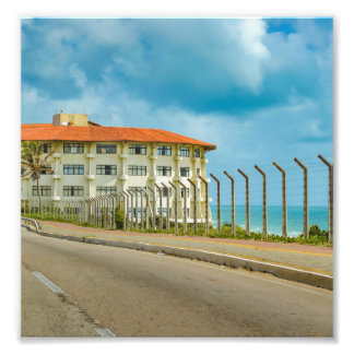 Eclectic Style Building Natal Brazil Photo Print