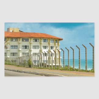 Eclectic Style Building Natal Brazil Sticker