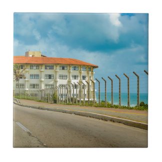 Eclectic Style Building Natal Brazil Tile