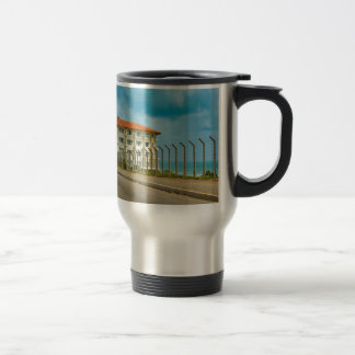 Eclectic Style Building Natal Brazil Travel Mug