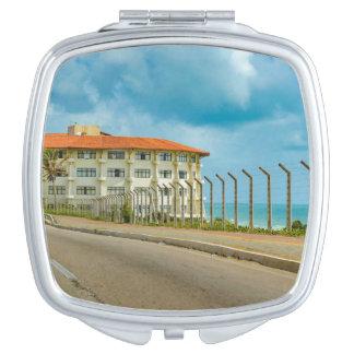 Eclectic Style Building Natal Brazil Vanity Mirror