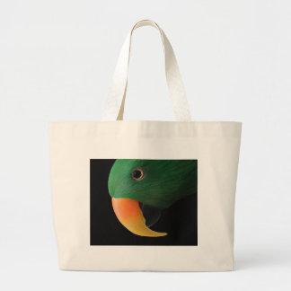 Eclectus Parrot Jumbo Tote Bag