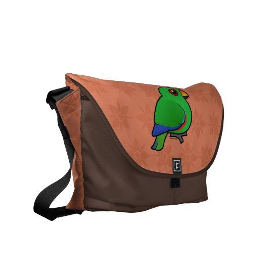 Eclectus Parrot male Messenger Bag