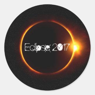 Eclipse 2017 keepsake sticker