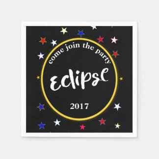 Eclipse And Stars Party Napkins