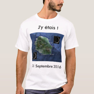 Eclipse-annular-of-Sun-with-The-Réunion-the-1st- T-Shirt