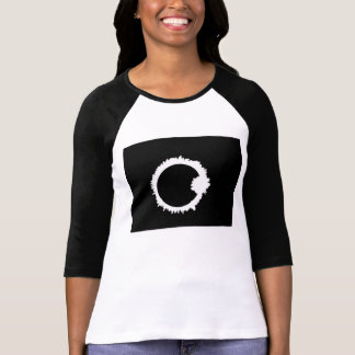Eclipse in marker t shirt