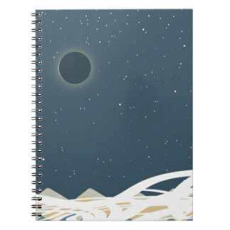 """Eclipse of Sun Art with """"Snakes"""" Notebook"""