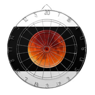 Eclipse of the Blood Moon Dartboard