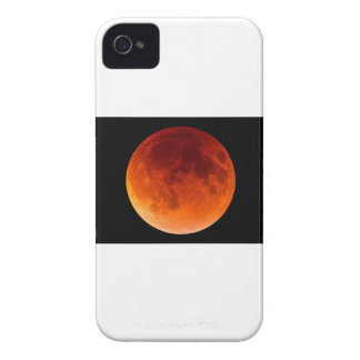 Eclipse of the Blood Moon iPhone 4 Cover