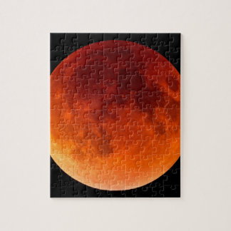Eclipse of the Blood Moon Jigsaw Puzzle