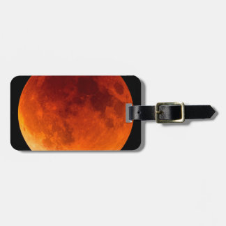 Eclipse of the Blood Moon Luggage Tag