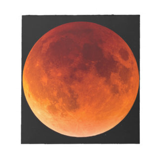 Eclipse of the Blood Moon Notepad