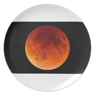 Eclipse of the Blood Moon Plate