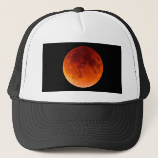 Eclipse of the Blood Moon Trucker Hat