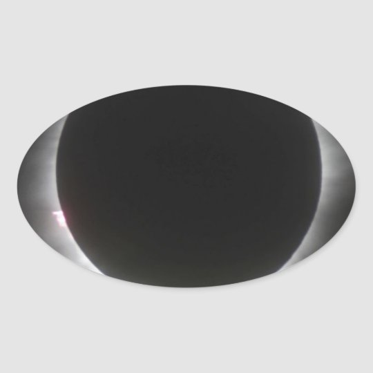 Eclipse Oval Sticker