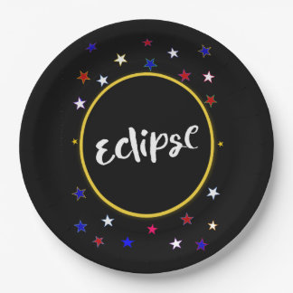Eclipse Party Paper Plates