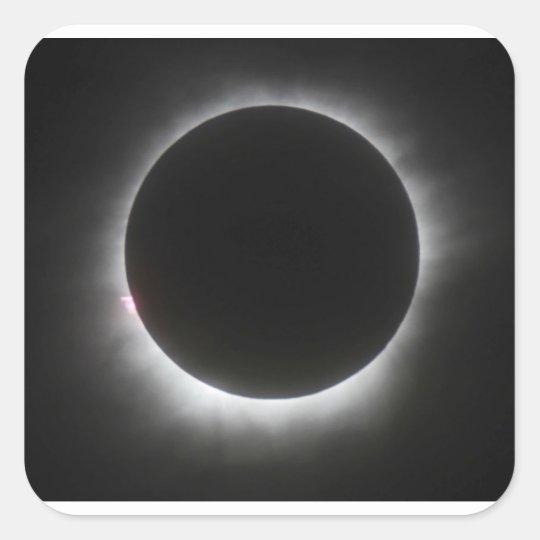 Eclipse Square Sticker