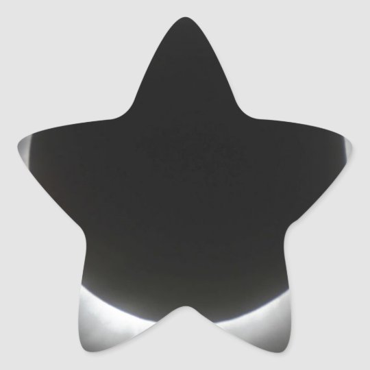 Eclipse Star Sticker