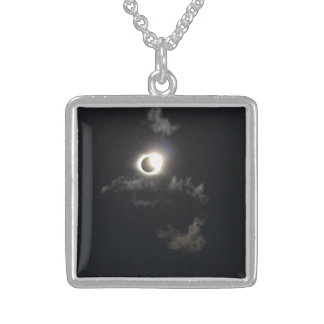 eclipse sterling silver necklace