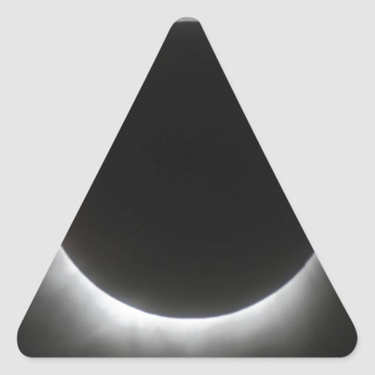 Eclipse Triangle Sticker