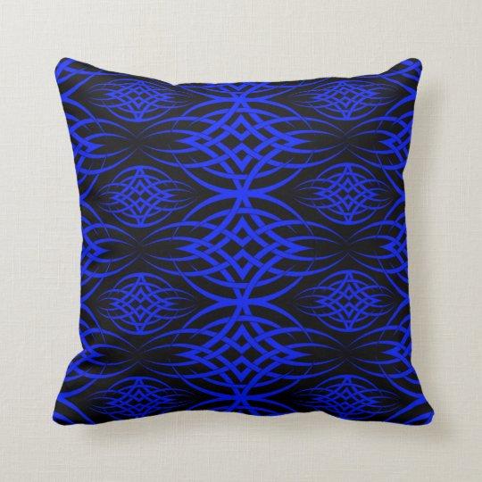 Eclipse Wallpaper ( Blue ) Throw Pillow