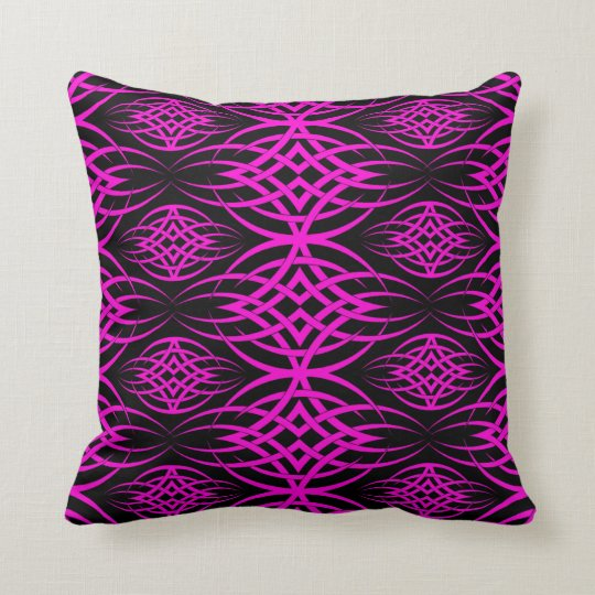Eclipse Wallpaper ( Pink ) Throw Pillow