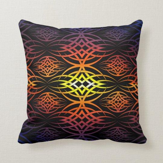 Eclipse Wallpaper ( Rainbow ) Throw Pillow