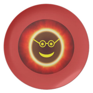 Ecliptoman Plate - Red