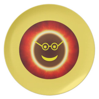 Ecliptoman Plate - Yellow